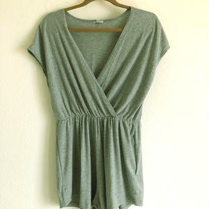 Urban Outfitters Ecoté Grey Romper M